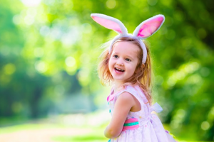 girl in bunny costume