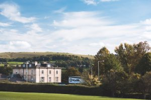 Wycliffe Prep school surrounded by Cotswold countryside